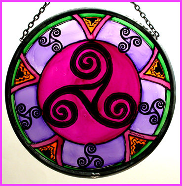 Celtic Swirls and Triskeles