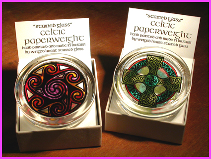 CELTIC PAPERWEIGHTS