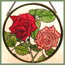 "Old Roses - 6"" Roundel"