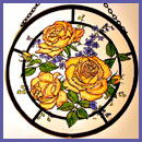 Peace Rose Roundel