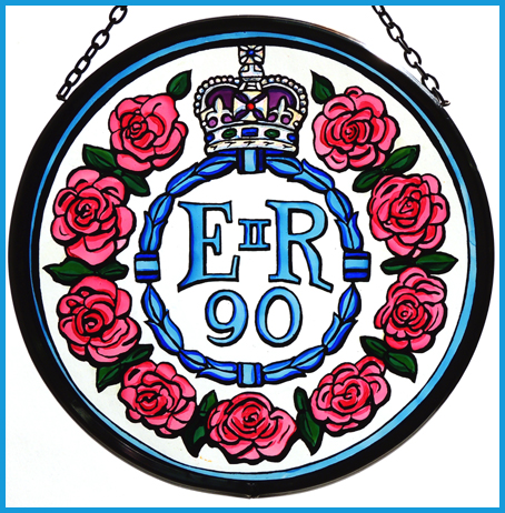 Queen Elizabeth's 90th birthday roundel