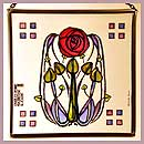 Charles Rennie Mackintosh Stained Glass Panels