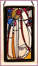 Winged Heart Uk Charles Rennie Mackintosh Stained Glass Panels