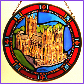 'Washington National Cathedral - Centennial Anniversary Roundel'