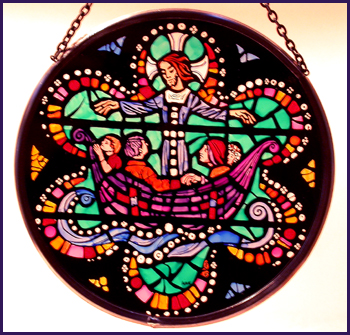 'Washington National Cathedral - Christ on the Sea of Galilee'