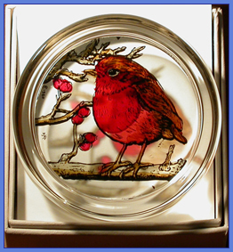 FAVOURITE BIRD PAPERWEIGHTS