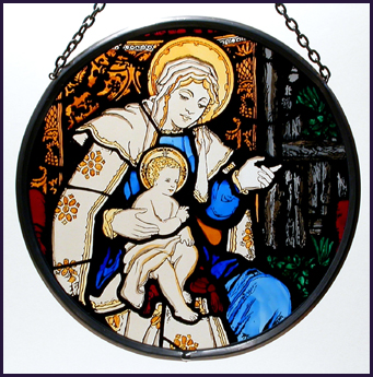 'Washington National Cathedral - Madonna and Child'