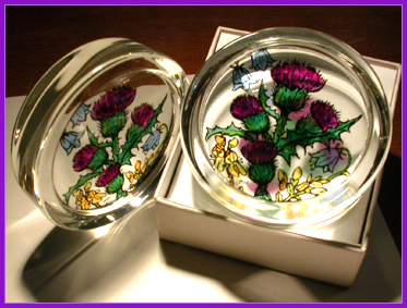 SCOTTISH DESIGN PAPERWEIGHTS